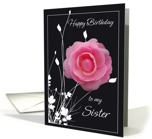 Happy Birthday Sister Card 242020