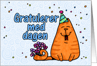 Norwegian Birthday Cards From Greeting Card Universe