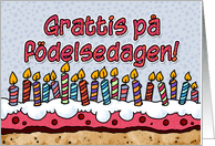 Swedish Birthday Cards From Greeting Card Universe