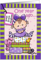 Age Specific Birthday Cards For Great Granddaughter From Greeting Card Universe
