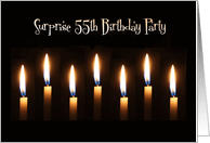 55th surprise birthday invitations from