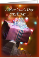 Birthday on New Year s Day Cards from Greeting Card Universe New Year s Day Birthday card