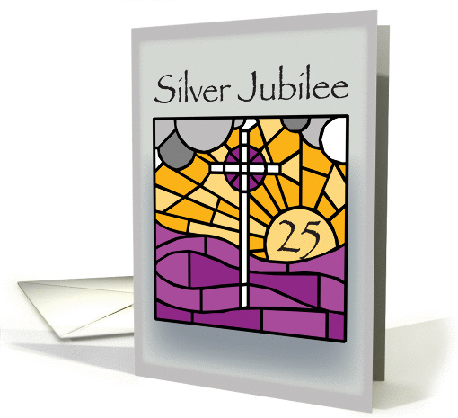 Silver Jubilee Religious Life Card 457781
