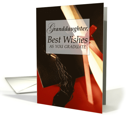 Grand Daughter Graduation Wishes Card 564349