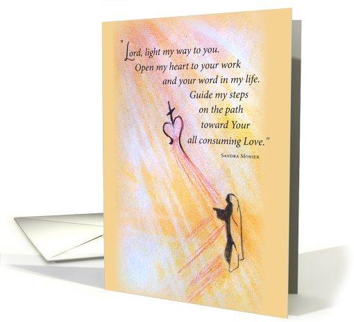 Priest Birthday Mother Teresa Card 619952