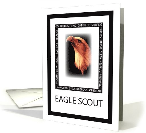 Eagle Scout Virtues Eagle Scout Invitation General Card