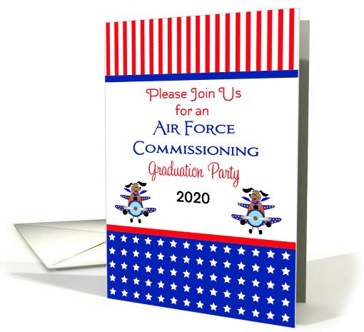 Air Force Commissioning Graduation Invitation 631777