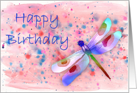 Birthday Cards With Dragonfly From Greeting Card Universe
