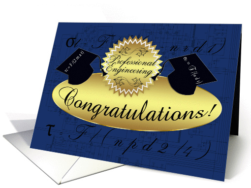 Professional Engineering Congratulations Tensile Stress
