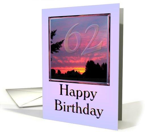 Happy 62nd Birthday Dad Card 504999