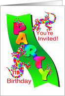 11th birthday invitations from greeting