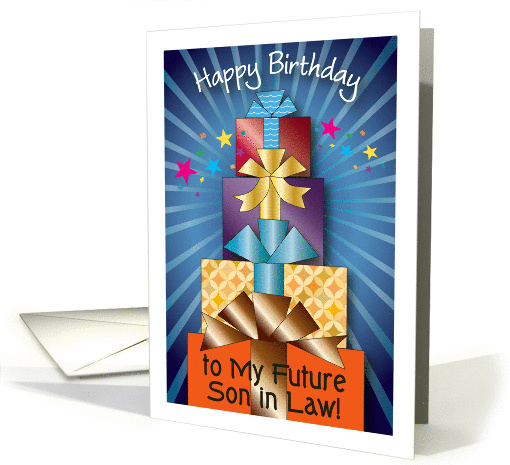 Birthday For Future Son In Law Presents Card 1209970