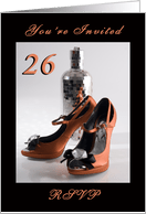 26th birthday invitations from greeting