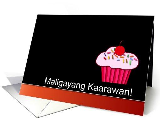 Filipino Happy Birthday Maligayang Kaarawan Card 774356