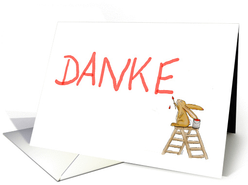 Danke German Thank You Card 871663