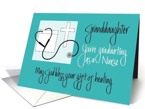 Granddaughter Graduation Nursing School Cross