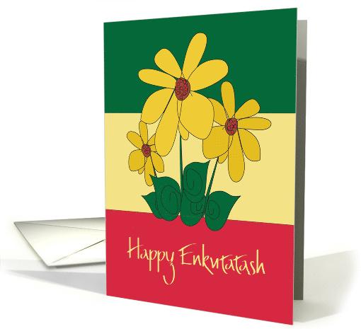 Enkutatash Ethiopian New Year Yellow Meskel Flower