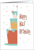 half birthday cards from greeting card