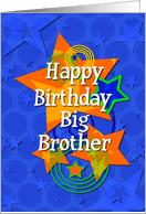 Birthday Cards For Big Brother From Greeting Card Universe