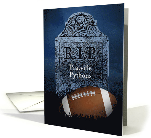 Sympathy Card For Your Football Teams Loss Card 1257716