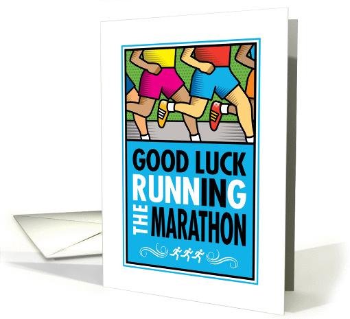 Good Luck Running In The Marathon Card 1369762