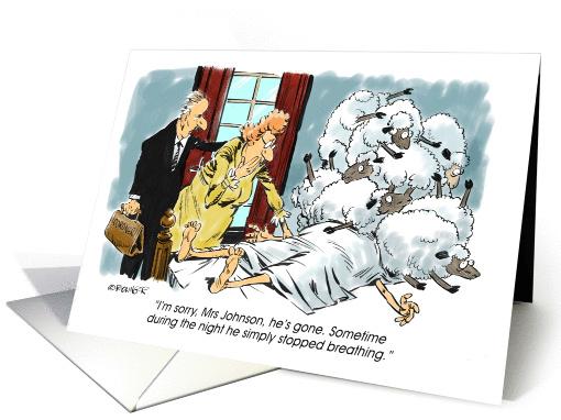 Amusing Congrats On Getting A Cpap Bipap Cartoon Card