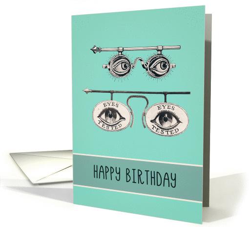 Happy Birthday Optometrist Ophthalmologist Optician