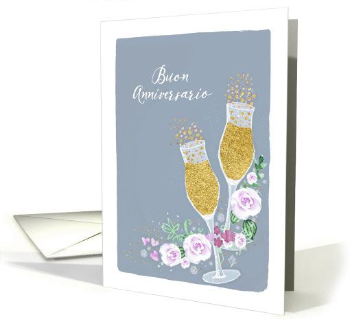 Happy Wedding Anniversary In Italian Buon Anniversario