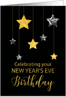 Birthday On New Year S Eve Cards From Greeting Card Universe