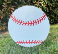 Baseballs from Greetings by the Yard, Cards by the Yard, Flamingo Surprise