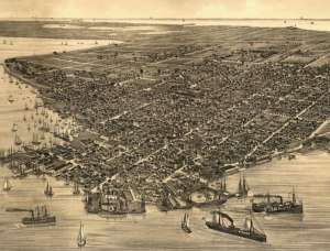 Up until 1900, Key West was Florida's largest city. Key West remained in the top five until 1930.