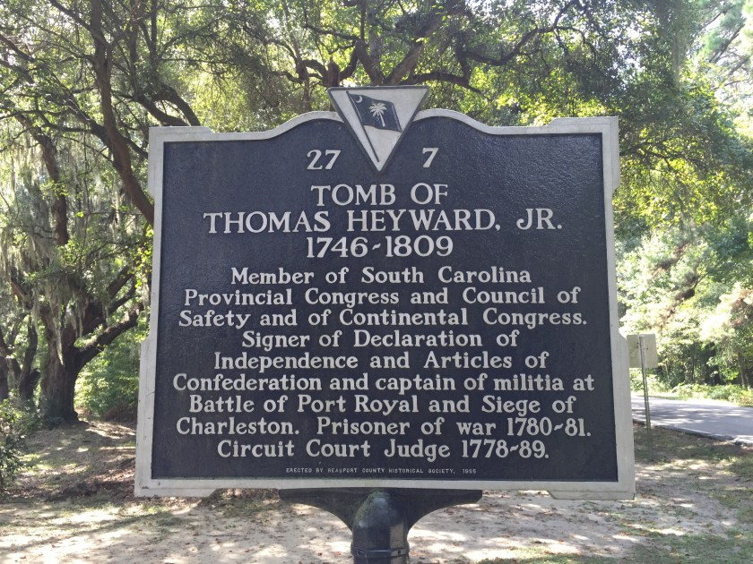Tomb of Thomas Heyward, Jr