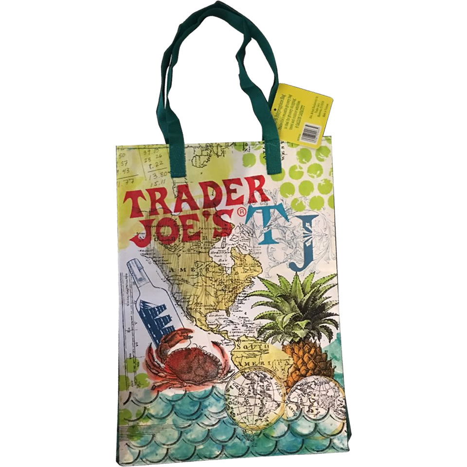 Trader Joe S Reusable Bag Sail The Culinary Seas