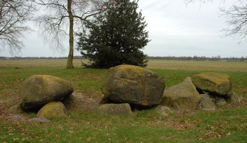 Dolmen near the village of Zeijen, province Drenthe, The Netherlands Photo by Ruud Zwart - The Mystery of the Hunebedden Dolmens of Drenthe, Netherlands – Greetings from the Past