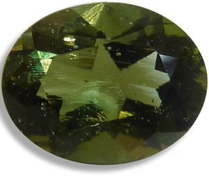 Faceted Moldavite - Unlike other tektites, moldavites can be cut into beautiful gemstones. Mysterious Moldavite – Greetings from the Past