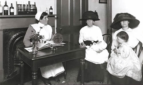 Alexandria Baby Clinic, 1914 - Dr. D. L. Smith's Baby Hospital, Saluda, NC – Greetings from the Past