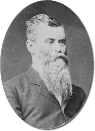 John Evans Brown, who built Zealandia Castle on the mountain that the tunnel in Asheville passes through. - Zealandia Castle and John Evans Brown's Family – Greeting from the Past