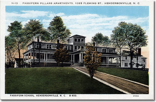 Postcard of Fassifern Pillars Apartments