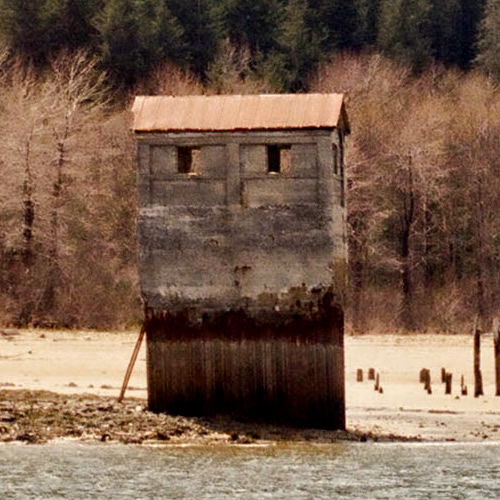 Treadwell Gold Mines Pump House on Douglas Island Photo by Kenneth Gill