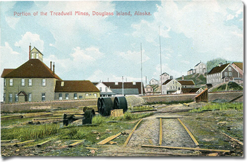 Postcard of Portion of the Treadwell Mines, Douglass Island, Alaska