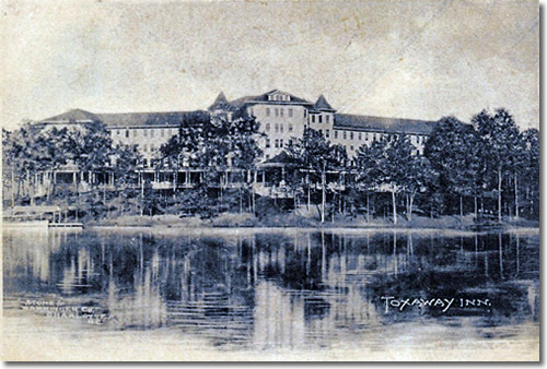 Old Postcard of Toxaway Inn