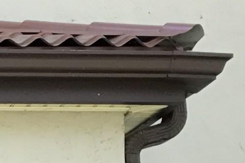 Metal Roof detail - Leslie K. Singley House, Druid Hills