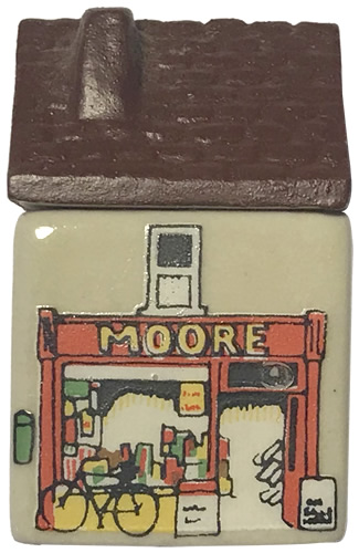 Moores Post Office - Wade's Irish Village, Bally-Whim - Wade Whimsey Villages