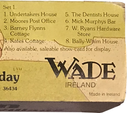 Wade's Irish Village, Bally-Whim - Wade Whimsey Villages