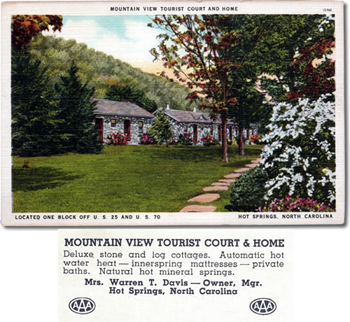 Mountain View Tourist Court and Home