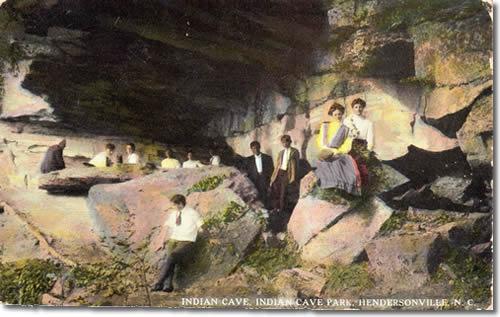 Indian Cave Park Postcard