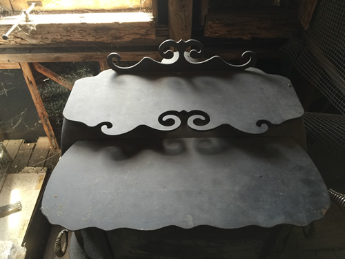 This is part of a stove in Travis Hardware, Cocoa Florida