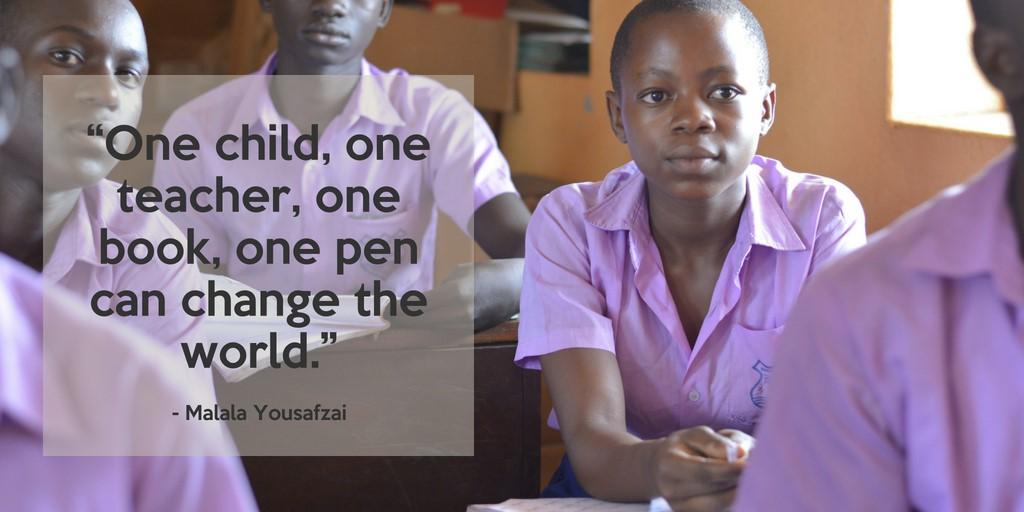Le GREF s'est associé à la campagne Twitter internationale sur l'éducation des filles