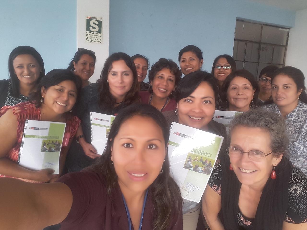 Le GREF au Pérou