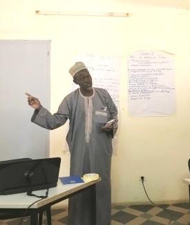 Une formation à l'ingénierie de formation à Niamey